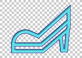 衣服图标高跟鞋图标鞋子图标,符号,徽标,箭头,电蓝,青色,蔚蓝,文