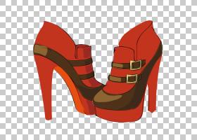 红色背景,红色,高跟鞋,鞋类,户外鞋,电梯鞋,服装辅料,鞋子,高跟鞋