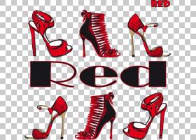 红色背景,线路,徽标,鞋类,户外鞋,高跟鞋,凉鞋,时尚,动画片,服装
