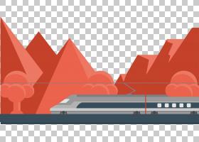 火车卡通,红色,字体,线路,角度,图案,设计,热度,高程,文本,三角形