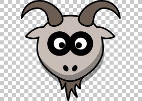 黑白相间,微笑,鼻子,山羊,鼻部,喇叭,蝙蝠,胡须,野生动物,头部,山