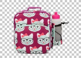 冰背景,硬币钱包,手提行李,行李袋,洋红色,粉红色,手提袋,孩子,保