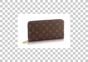 钱包,棕色,手提包,画布,硬币,单字图,路易威登,硬币钱包,钱包,
