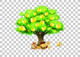 花卉剪贴画背景,草,插花,切花,花卉,黄色,树,花盆,花瓣,花,植物,