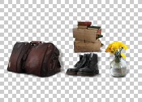 鞋子卡通,棕色,棕色鞋,手提包,礼服鞋,皮革,包,鞋,