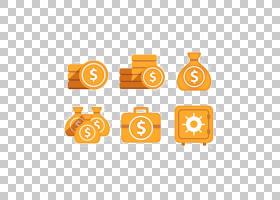 黄金广场,圆,线路,橙色,黄色,文本,正方形,钱袋,金条,硬币,金币,