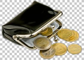 钱袋,黄金,金属,钱,皮革,包,半冠,欧元硬币,钱包,手提包,阿拉米,