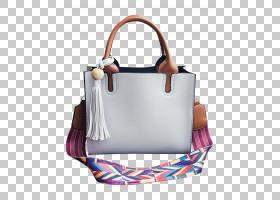 购物袋,白色,肩包,行李袋,电蓝,皮革,离合器,购物,扣,点缀,人造革
