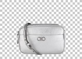 银色背景,矩形,肩包,金属,材质,硬币钱包,菲拉格慕,白色,红色,肩
