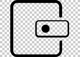 硬币钱包黑色,矩形,技术,面积,线路,黑白,黑色,文档,计算机软件,