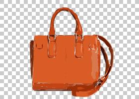 颜色背景,手提袋,橙色,肩包,皮带,桃子,焦糖颜色,棕色,普拉达,服