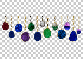 颜色背景,耳环,身体首饰,羽毛,颜色,车身首饰,晶体,紫色,德鲁兹,