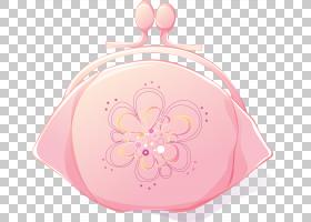 图形背景,粉红色,用户界面设计,硬币钱包,钱包,