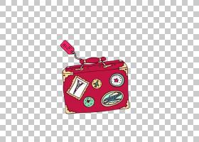 旅行行李箱,红色,洋红色,手提包,包,硬币钱包,行李,旅行包,手提箱