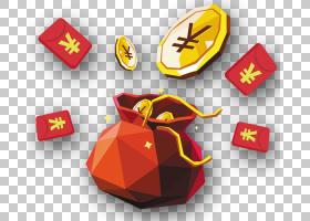 春节金币,金条,元旦,包,黄金,金币,中国新年,Fukubukuro,红包,