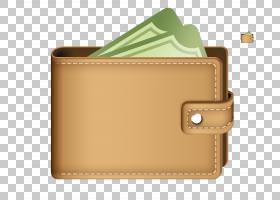 信用卡,矩形,米色,皮革,棕色,口袋,信用卡,加密货币钱包,自由小程