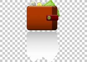 信用卡,矩形,线路,橙色,黄色,手提包,信用卡,硬币,钱,硬币钱包,钱