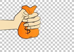 橙色背景,手,线路,橙色,手指,关节,手臂,食物,拇指,漫画,包,钱包,