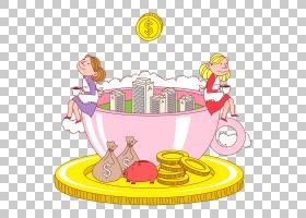 儿童卡通,线路,黄色,娱乐,食物,面积,玩具,播放,Fukubukuro,模型