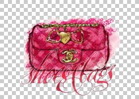 奢华背景,红色,洋红色,花瓣,粉红色,时尚,硬币钱包,钱包,绘图,时