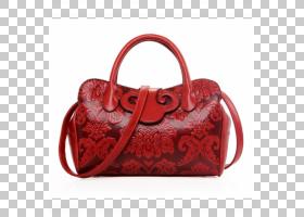女卡通,行李袋,皮带,肩包,红色,肩部,抽针,硬币钱包,Bicast皮革,