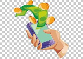 电话卡通,手指,关节,手,食物,拇指,移动电话,钱,电话,免费,移动支