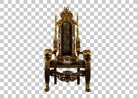 王座古董,家具,黄铜,椅子,金属,古董,座椅,计算机图形学,图表,王