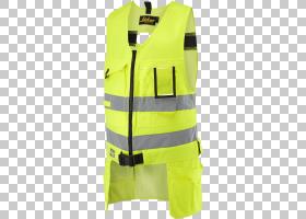 小公鸡黄,高能见度服装,套筒,现役坦克,个人防护装备,外衣,背心,