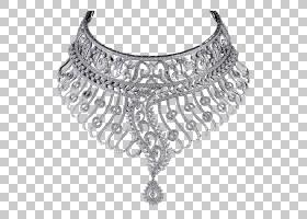 金项链,黑白,金属,身体首饰,闪闪发光,钻石切割,黄金,头饰,链,皮