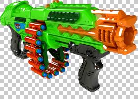 枪械卡通,枪械附件,武器,火器,飞镖区蝎子Gatling Blaster,爆破器