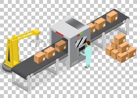 工厂卡通,工具,角度,工程学,制造业,长方体,生产,装配线,机器,行