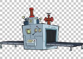 工厂卡通,机床,机械厂,行业,传送带,传送带系统,卡通,机器,