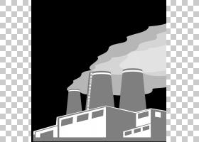 工厂卡通,角度,天空,结构,剪影,文本,黑白,黑色,制造业,生产线,建