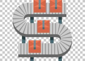 工厂卡通,角度,表,线路,橙色,机器,装配线,工程学,传送带系统,制
