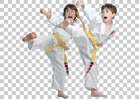 儿童卡通,手臂,服装,日本武术,服装,关节,统一,唐秀道,Dobok,道场
