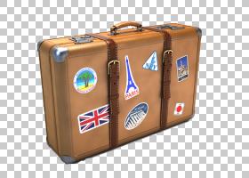 旅行行李,休假,旅行,干线,行李,手提箱,