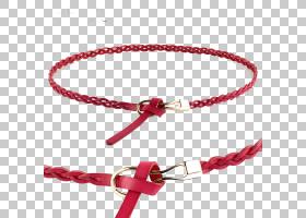 红色背景,线路,腰部,链,手镯,结,红色,扣,鞋类,时尚,腹链,编织,皮