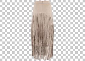 铅笔剪贴画,米色,衬衫,皮带,女人,褶皱,人造革,绳索拼接,铅笔裙,