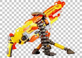 枪械卡通,玩具积木,机器人,机器,机械,乐高,黄色,枪,Nerf NStrike