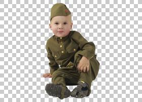 士兵卡通,蹒跚学步的孩子,孩子,头盔,军队,套筒,外衣,男孩,胜利日