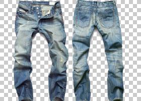 复古背景,口袋,皮带,顶部,蓝色,总体而言,Wideleg牛仔裤,短裤,休