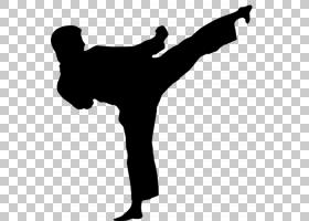 韩国卡通,黑白,手臂,手指,关节,手,剪影,站立,格斗运动,唐秀道,老