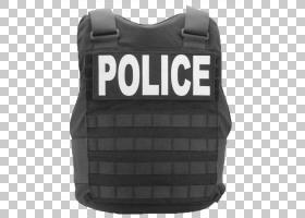警察卡通,防弹背心,个人防护装备,外衣,背心,黑色,皮带,裤子,国家