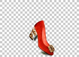 红色背景,高跟鞋,鞋类,户外鞋,棕色,红色,时尚,脚跟,凉鞋,鞋子,高
