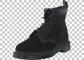 购物卡通,皮革,绒面革,户外鞋,步行鞋,工作靴,黑色,鞋类,时尚,鞋