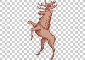 驯鹿卡通,喇叭,尾巴,野生动物,鹿鹿,驼鹿忠诚教团,鹿角,绘图,麋鹿
