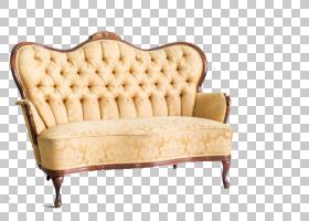 追溯背景,木材,硬木,相思,簇绒,床,翼椅,沙发床,房间,复古风格,家