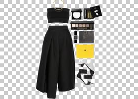 金色背景,关节,肩部,颜色,黄金,白色,项链,时尚,黑色,服装,裙子,