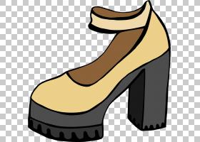 高跟鞋步行鞋,高跟鞋,鞋类,户外鞋,步行鞋,脚跟,数据,服装辅料,鞋