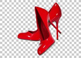 鞋子卡通,户外鞋,高跟鞋,鞋类,红色,结婚鞋,服装,脚跟,鞋子,细高